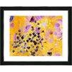 "Studio Works Modern ""Angel of Repose Flower"" by Zhee Singer Framed Fine Art Giclee Painting Print"