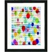 "Studio Works Modern ""Quirk Series"" Framed Fine Art Giclee Print in Multi"