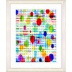 "Studio Works Modern ""Quirk Series - Multi"" by Zhee Singer Framed Fine Art Giclee Painting Print"