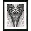 "Studio Works Modern ""Salome"" by Zhee Singer Framed Painting Print"