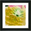 "<strong>Studio Works Modern</strong> ""Yellow Dahlia"" by Zhee Singer Framed Painting Print"