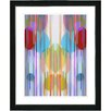 "Studio Works Modern ""Pastel Quirk Series"" by Zhee Singer Framed Fine Art Giclee Painting Print"