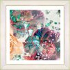"Studio Works Modern ""Scented Bloom"" by Zhee Singer Framed Fine Art Giclee Painting Print"