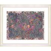 "Studio Works Modern ""Summer Field on Lace"" by Zhee Singer Framed Fine Art Giclee Painting Print"