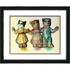 "Studio Works Modern ""Cat Family"" Framed Art"
