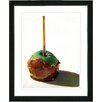 "Studio Works Modern ""Candy Apple"" by Zhee Singer Framed Fine Art Giclee Painting Print"