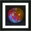 "Studio Works Modern ""Red Magic Apple"" by Zhee Singer Framed Fine Art Giclee Painting Print"