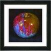 "Studio Works Modern ""Red Magic Apple"" by Zhee Singer Framed Graphic Art"