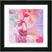 """Studio Works Modern """"Flowers of Okavango"""" by Zhee Singer Framed Painting Print"""