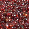 <strong>Wholesalers USA</strong> 5 lbs of  Glass Gems in Orange or Red