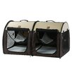 One For Pets Double Fabric Portable Pet Crate/Carrier