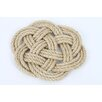 <strong>Latitude 38 Nautical Jute Rope Knot Trivet</strong> by DEI