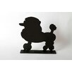 "<strong>DEI</strong> Unleashed ""Poodle"" Dog Silhouette Table Chalkboard"