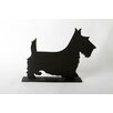 "<strong>DEI</strong> Unleashed ""Terrier"" Dog Silhouette Table Chalkboard"
