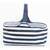 <strong>Latitude 38 Nautical Stripe Insulated Picnic Basket</strong> by DEI