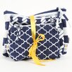 <strong>Latitude 38 3 Piece Nautical Cotton Zip Pouch</strong> by DEI