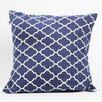 <strong>Latitude 38 Nautical Medallion Cotton Pillow</strong> by DEI