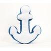 DEI Latitude 38 Nautical Anchor Cotton Pillow