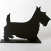 "<strong>Unleashed ""Terrier"" Dog Silhouette Table 11.75"" x 1' 3"" Chalkboard</strong> by DEI"