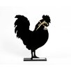 "DEI Farm to Table Rooster Standing 1' 2"" x 1' Chalkboard"
