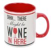 DEI Wine Sayings SHHH Big Can 20 Oz. Mug
