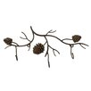 DEI Woodland River Pinecone Wall Hook
