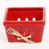 DEI Farm to Table Small Ceramic Berry Fruit Basket