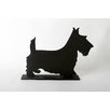 "<strong>DEI</strong> Unleashed ""Terrier"" Dog Silhouette Table 11.75"" x 1' 3"" Chalkboard"