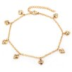 <strong>Heart Charm Anklet Bracelet</strong> by Steeltime