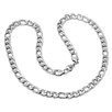 Steeltime Stainless Steel Necklace and Bracelet