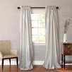 Heritage Landing Faux Silk Curtain Panel (Set of 2)