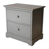 <strong>Muniré Furniture</strong> Chesapeake 2 Drawer Nightstand