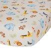 Lambs & Ivy Jungle Buddies Crib Sheet