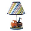 "Lambs & Ivy Little Traveler 10.75"" H Table Lamp with Empire Shade"