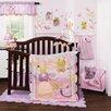 Lambs & Ivy Puddles 4 Pc Bedding Set