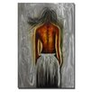 Pure Art Figurative Sculptures Dark Beauty Original Painting Plaque