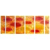 <strong>Pure Art</strong> Abstract Sculptures Sun Spots of Glory 6 Piece Original Painting Plaque Set