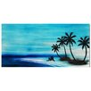 <strong>Tree Sculptures Paradise Palm Tree Dream Original Painting Plaque</strong> by Pure Art