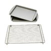 <strong>Le Chef</strong> 3 Piece Baking Sheet Set with Rack