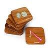 Mela Artisans 6 Piece Sangeet Coasters