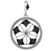 <strong>Dazzling Rock</strong> Sterling Silver Fancy Diamond Pendant
