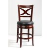 "Mochi Furniture Elmira 24"" Swivel Bar Stool with Cushion"