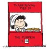 Marmont Hill Peanuts Thanksgiving Pies Canvas Art