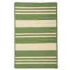 <strong>Long Point Moss Green Striped Indoor/Outdoor Rug</strong> by Panama Jack Home