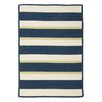 <strong>Panama Jack Home</strong> Republic Navy Striped Indoor/Outdoor Rug