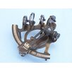 Handcrafted Model Ships Antiqued Sextant