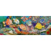 "<strong>En Vogue</strong> 16"" x 6"" Undersea Art Tile in Multi"