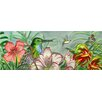 "<strong>En Vogue</strong> 16"" x 6"" Hummingbirds Art Tile in Multi"