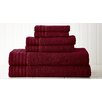 Colonial Textiles Spring Bloom Quick Dry Egyptian Cotton 6 Piece Towel Set
