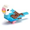 <strong>nanoblock</strong> Mini Blue Parakeet Building Blocks